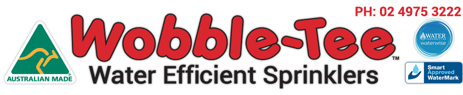 Wobble-Tee Water Efficient Sprinklers